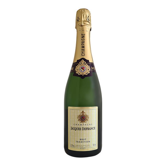 Jacques de France Champagne Brut Tradition