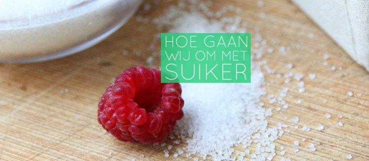 hoe gaan wij om met suiker