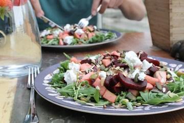 bietjes geitenkaas salade wijsuikervrij suikervrij blog recepten