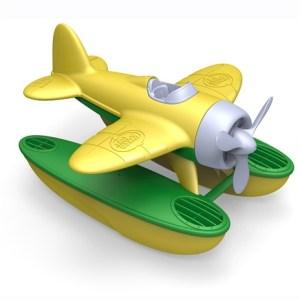 zeevliegtuig gele vleugels