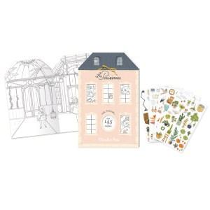 moulinroty wijs west wijswest online shoppen winkel amsterdam speelgoed Moulin Roty 642544 Knutselen 3575676425442 Moulin Roty Stickerboek Les Parisiennes