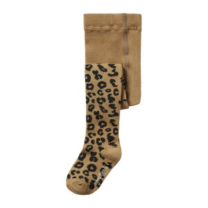 Wijs west Maed for Mini Maed for Mini Brown Leopard AOP  AW20MFM Kleding & Accessoires Sokken & Maillots
