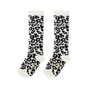 Wijs west Maed for Mini Maed for Mini White Leopard AOP  AW20MFM Kleding & Accessoires Sokken & Maillots