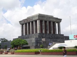 Ho Chi Minh Mausoleum Hanoi Vietnam