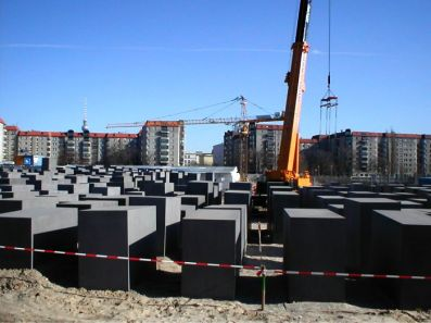 Bouw Holocaust Monument
