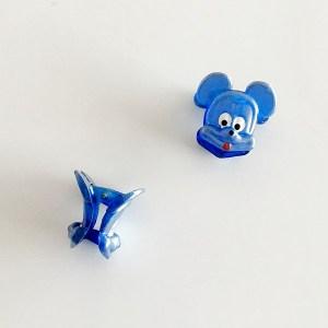Krásny detský štipec do vlasov v tvare Mickey Mouse. Vhodný pre deti aj dospelé ženy. Farba- modrá. Rozmer: 3cm