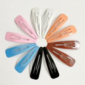 Krásne veľké sponky pukačky do vlasov kovové pre ženy a detíčky, 12ks. Farba- mix. Rozmer: 7cm.