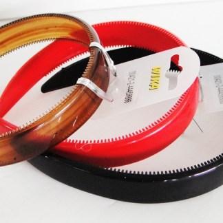 Dámska klasická čelenka do vlasov pre krásne účesy. Farba- červená. Rozmer: 2cm.