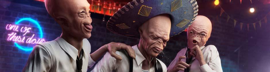 drunkaliens1 Drunk Aliens