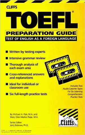 Cliff's TOEFL Preparation Guide