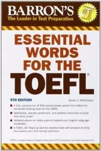 Barron's Essential Words for the TOEFL - Wikitoefl.Net