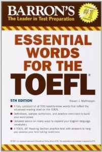 Barron's Essential Words for the TOEFL - Wikitoefl.Net