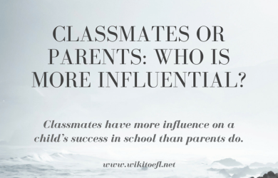 Classmates or Parents: Who Is More Influential