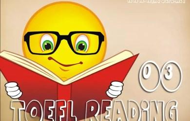 TOEFL Reading Practice Test 03 - [WikiToefl.Net]