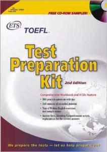 TOEFL Test Preparation Kit with CDROM