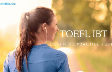 TOEFL IBT Listening Practice Test 15 from TOEFL Actual Test Book