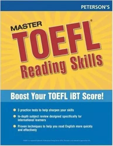 Peterson's Master the TOEFL Reading Skills