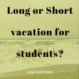 vacation on a beach wiki toefl