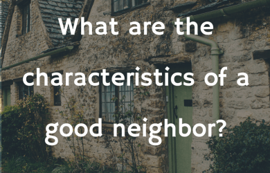 wiki toefl good neighbors