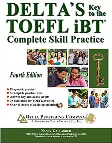 Delta's Key to the TOEFL iBT- Complete Skill Practice