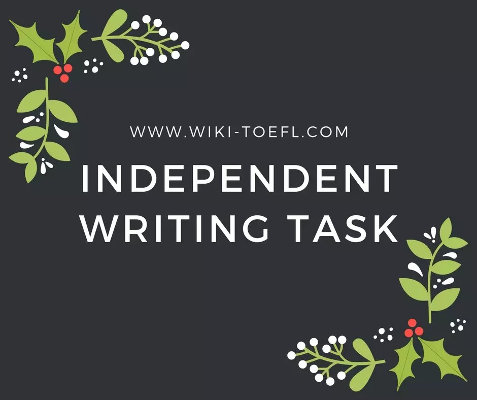 Independent Writing Task