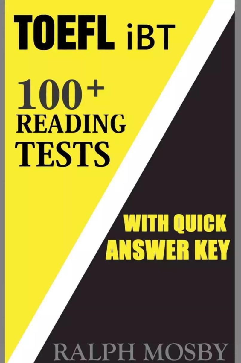 TOEFL iBT 100+ Reading Test 2018