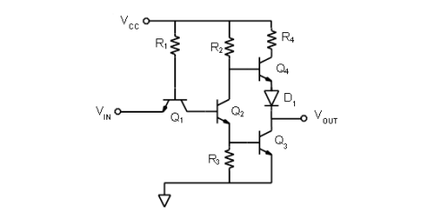 Activity: TTL inverter and NAND gate [Analog Devices Wiki]