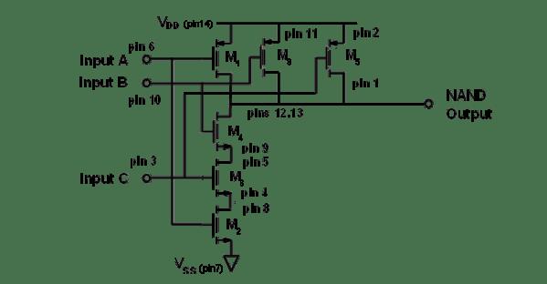 Build CMOS Logic Functions Using CD4007 Array [Analog