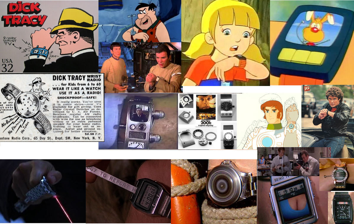 SmartWatch collage