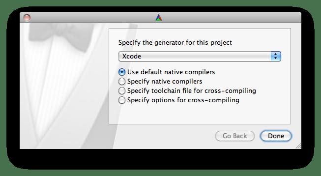 cmake-xcode