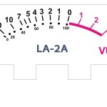 VU Meter for DIY la-2a rack