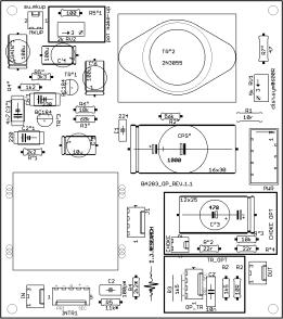 DIY Neve BA283 preamp PCB
