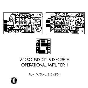 acsound dip8 discrete opamp