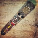 251 C12 microphone condenser mod analog recording diy open plan