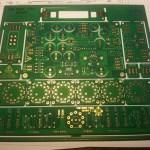 front panel diy recording equipment tube eq boost analog