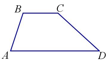 Formula pentru calcularea înălțimii unui trapeziu de echilibru prin diagonala și unghiul dintre ele