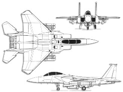 F 15 eagle diagram   Find image