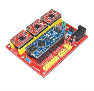 Ks0096 keyestudio CNC Kit  CNC Shield V40  Nano 30