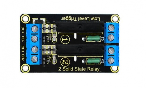 Ks0264 Keyestudio Two-channel Solid State Relay Module