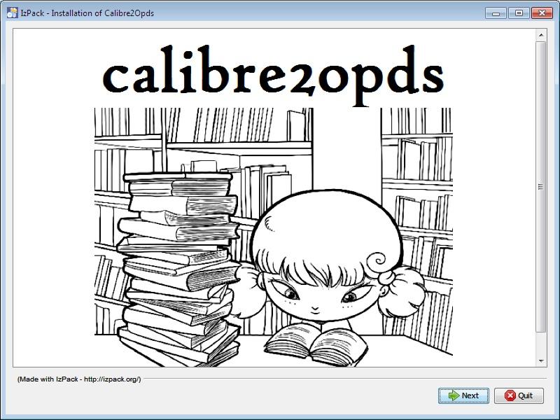 Calibre2Opds Welcome.jpg