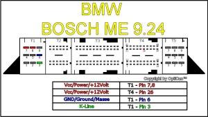 Bmw e90 318i Bdm pinout