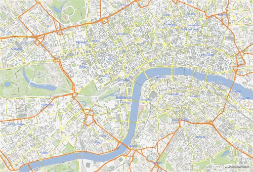 Printable London Map Pdf.London Map Pdf Printable