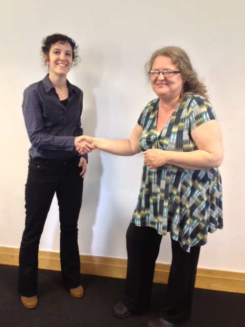 Winner of the practitioner's practitioner award: Eleonora Nicchiarelli from the University of Nottingham
