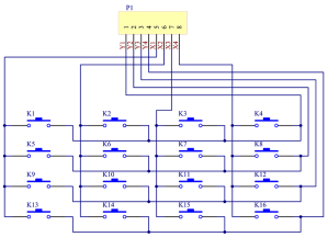 4X4 Matrix Keypad Module  Wiki