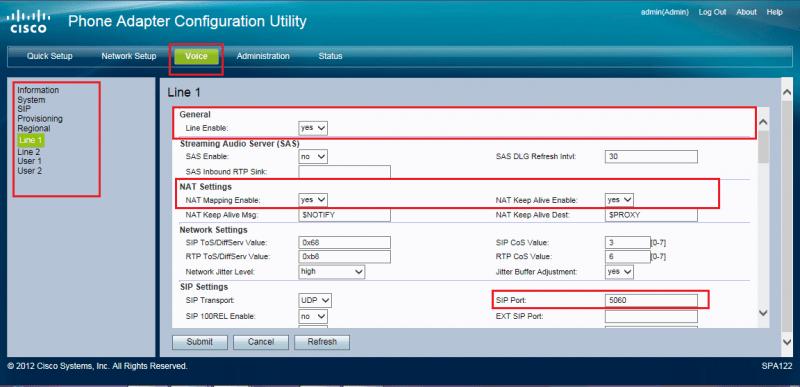Cisco SPA112 VoIPms Wiki