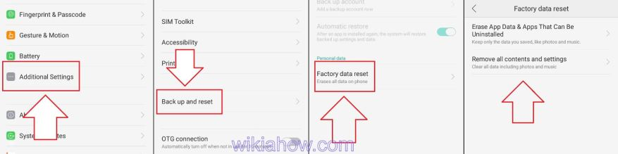 How to unblock a number on Android in with a FACTORY RESET