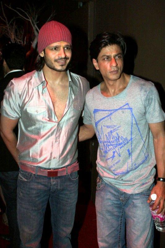 Vivek Oberoi with Shah Rukh Khan