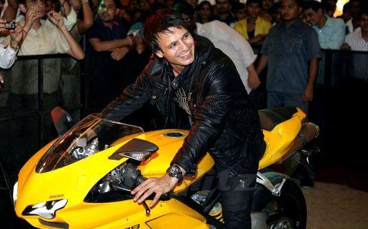 Vivek riding his Ducati 1098