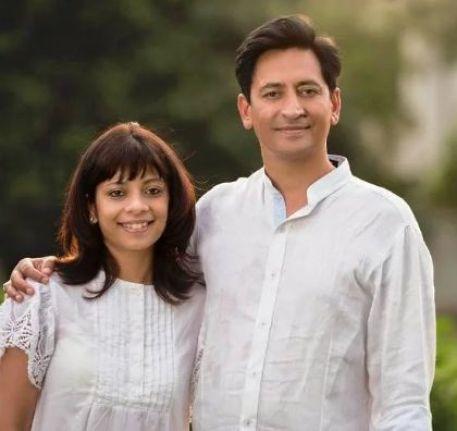 Deepak Rawat And His Wife Vijeta Singh