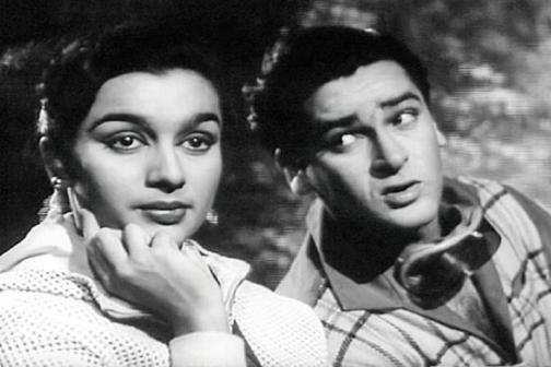 Asha Parekh And Shammi Kapoor